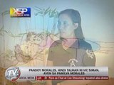 Morales family denies Pandoy is Vic Siman's man