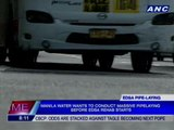 Manila Water wants pipe-laying project before EDSA rehab begins