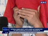Mobile security app aids authorities in recovering stolen gadgets