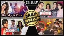 Kangana's Judgementall Hai Kya Screening,The Sky is Pink Poster, Kartik Protects Sara | Top 10 News