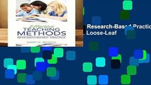 Effective Teaching Methods: Research-Based Practice, Enhanced Pearson Etext with Loose-Leaf