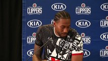 LA Clippers introduce new stars Kawhi Leonard and Paul George at presser
