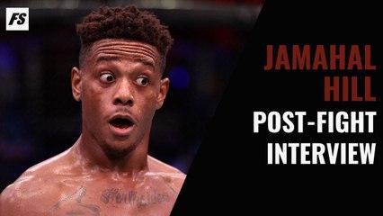 DWCS: Jamahal Hill post-fight interview