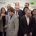 Cet étudiant russe va avoir de gros problèmes après avoir rencontré Vladimir Poutine