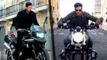 Hrithik Roshan And Tiger Shroff Performed Dangerous Bike Stunts For An Upcoming Film