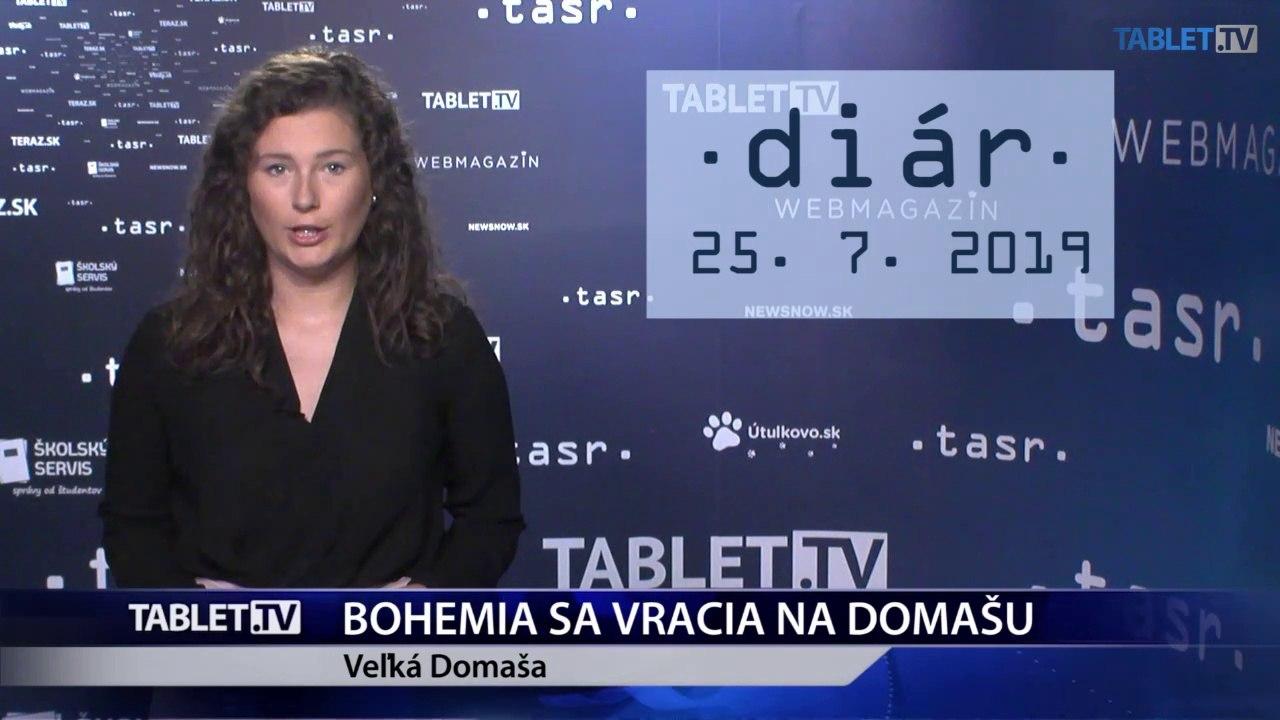 DIÁR: Loď Bohemia sa vracia na Domašu