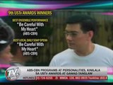 Gawad Tanglaw, USTv Awards honor ABS-CBN shows, stars