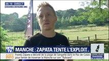 Franky Zapata n'a pas réussi à traverser la Manche sur son Flyboard