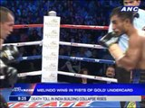 Melindo wins in 'Fists of Gold' undercard