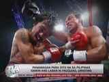 Pacquiao urged to hold next fight in PH