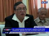 Filipino war veterans fight for pension, benefits in US
