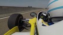 Renault RS10 : tour embarqué avec René Arnoux pour les 40 ans du Turbo