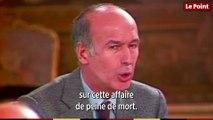 Valéry Giscard d'Estaing à propos de la peine de mort