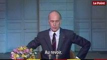 19 mai 1981 : le discours d'au revoir de Valéry Giscard d'Estaing