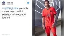 PSG : Le club dévoile son maillot extérieur signé Jordan