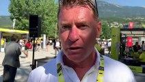 """Tour de France 2019 : Franck Alaphilippe : """"Ce n'est plus l'entraîneur, c'est le cousin qui parle"""""""