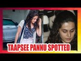 Taapsee Pannu spotted post her salon session