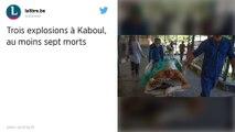 Afghanistan : Trois explosions à Kaboul font au moins douze morts