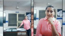 Lady cop suspended for making Tik Tok video, Video goes Viral