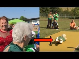 She looks like any normal grandma. But wait until you see her in action!