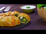 Our Spinach & Potato Braided Ring Looks Elegant & Tastes Delicious
