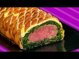 Beef Wellington With Bacon & Spinach: A Surprise In A Roll