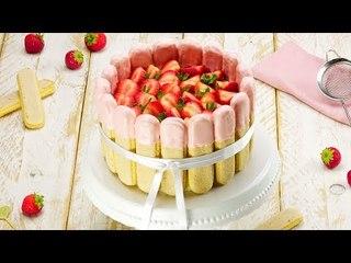 Strawberry Tiramisu Cake – A Fruity Twist On A Classic