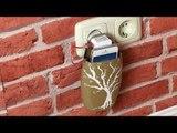 Astuce : recycler une bouteille de shampoing pour charger son portable