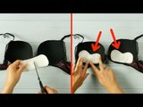 Cut The Pantyliners And Stick Them In Your Bra