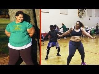 Depois de perder 70 kg, ela viralizou dançando.