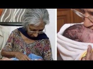 A mulher de 72 anos engravidou. Esta foto surpreendeu o mundo todo.