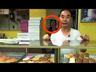 Quando a esposa do confeiteiro não foi à loja, os clientes suspeitaram que algo tinha acontecido.