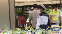 Tokyo 2020 heat countermeasures tested at beach volleyball event