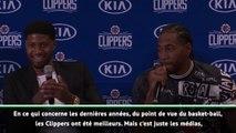 """Clippers - Kawhi Leonard : """"Les Clippers ont été meilleurs que les Lakers"""""""