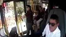 - Kocaeli'de otobüs şoförü, Türk bayrağını yerde bırakmadı- Otobüsünü durdurup bayrağı yerden alarak başucuna koydu- Sürücünün örnek davranışı kameralara yansıdı
