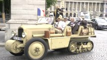Citroën Collector's Reunion, Parade in Paris