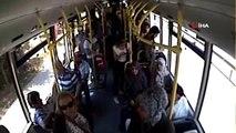 - Kocaeli'de otobüs şoförü, Türk bayrağını yerde bırakmadı- Otobüsünü durdurup bayrağı yerden...