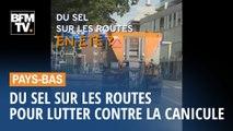 Aux Pays-Bas, on répand aussi du sel sur les routes pour lutter... contre la canicule