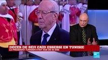 Décès de Béji Caïd Essebsi : le bilan de sa présidence ?