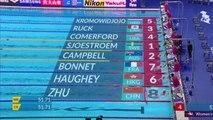 Gwangju 2019 : Nouvelle désillusion pour Charlotte Bonnet en 100 m nage libre
