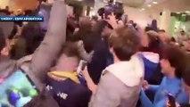 Le bain de foule de Daniele De Rossi en Argentine