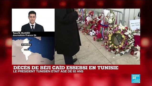 """Décès de Béji Caïd Essebsi : """"Ce n'est pas une surprise. Il est tombé dans le coma hier soir."""""""