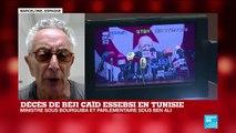 """Décès de Béji Caïd Essebsi: """"Il a joué un rôle clé à un moment où la Tunisie dérivait"""""""