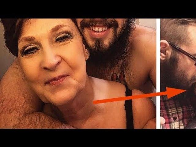 On dirait une grand-mère et son petit-fils. Mais la vérité a choq...