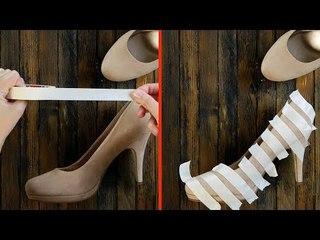 Todos têm que conhecer estas 11 dicas para calçados. A nº 3 é brilhante!