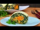 Bûche d'épinards végétarienne : le déjeuner tout en rondeur