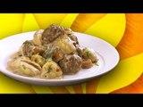 Pâtes forestières aux boulettes de viande : saveurs automnales dans l'assiette