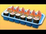 Des dés de sushis délicieux pour toutes les occasions !