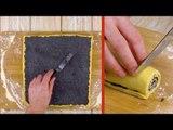 Étalez la pâte et coupez le rouleau. Le résultat est étonnant !