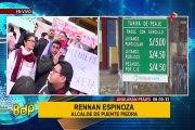 Puente Piedra: protestan por permitir que se mantenga tarifa de peaje de Rutas de Lima